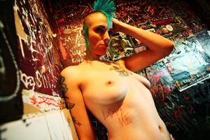 Nude Punk Girl Naked Photo Full HD