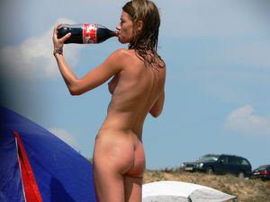 Nudists family nude beach - VoyeurPapa