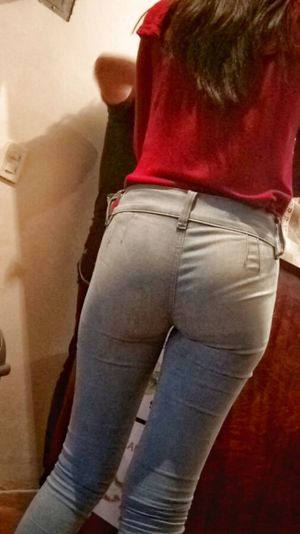 Teen in tight jeans don - Other