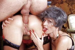 black granny anal sex