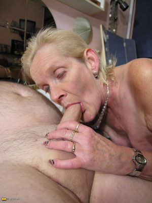 Granny loves to fuck all morning to..