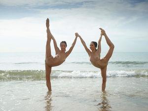 Фото голые гимнастки..