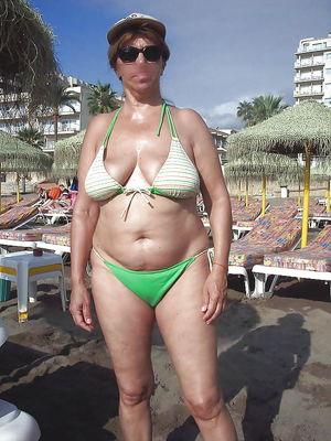 Women in Bikinis showing too much -..
