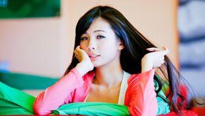young beautiful asian girls