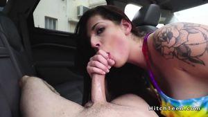 Hd Hitchhiker Blowjob Porn Videos..