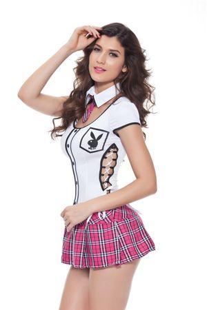 Sexy School Girl Cosplay Costume 1026..