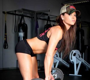 Hot Girl Working Out WallpaperSexy
