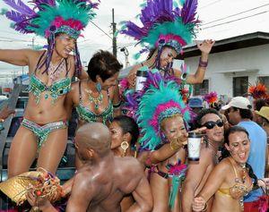 Celebrate Carnival in Trinidad..