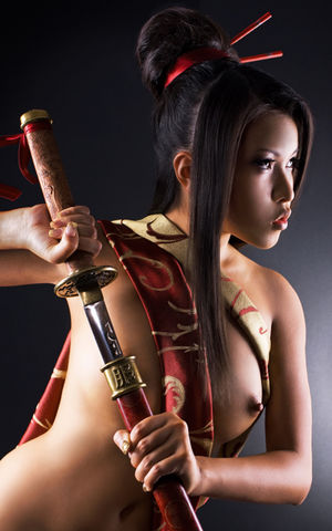 sexy ninja girl