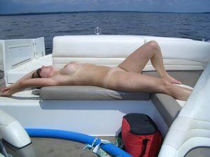 Amateur documentando sus vacaciones -..