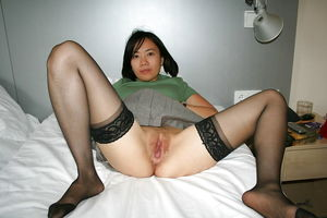 Young Asian Whores in stockings - Born..