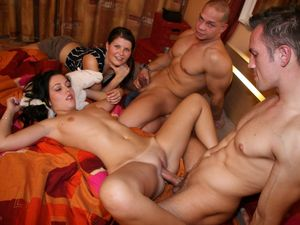 swingers orgy porn