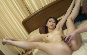 Lovely Japanese girlfriend dirty loose..