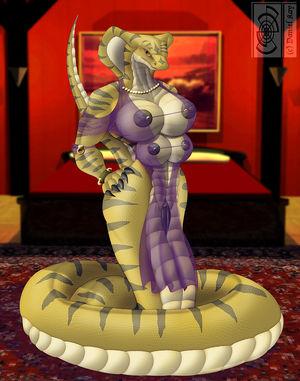f / snake girls /  - Ychan