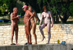 Curious topic high chaparal nudist..