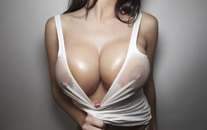 sexy girl with big boobs