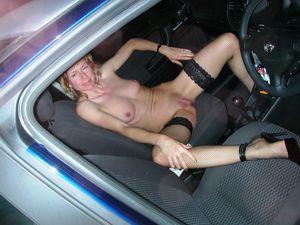 doggingIn the car blowjob