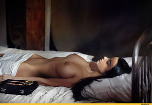 Alla Berger Topless