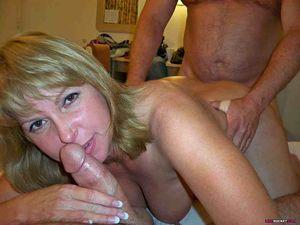 real mom blowjob