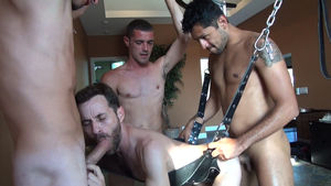 Four Play: Sean Storm's Gangbang For..