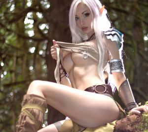 Sexy Elf Wallpaper by Michael - 36 -..