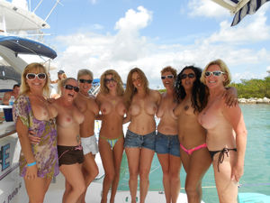 Cougards on a boat - Steemit