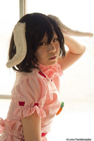 Inaba Tewi Ero-Cosplay by Tanaka Mana..