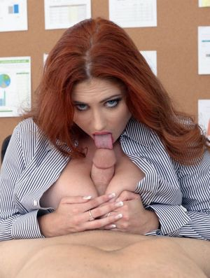 Lennox Luxe Casual oral sex at work...
