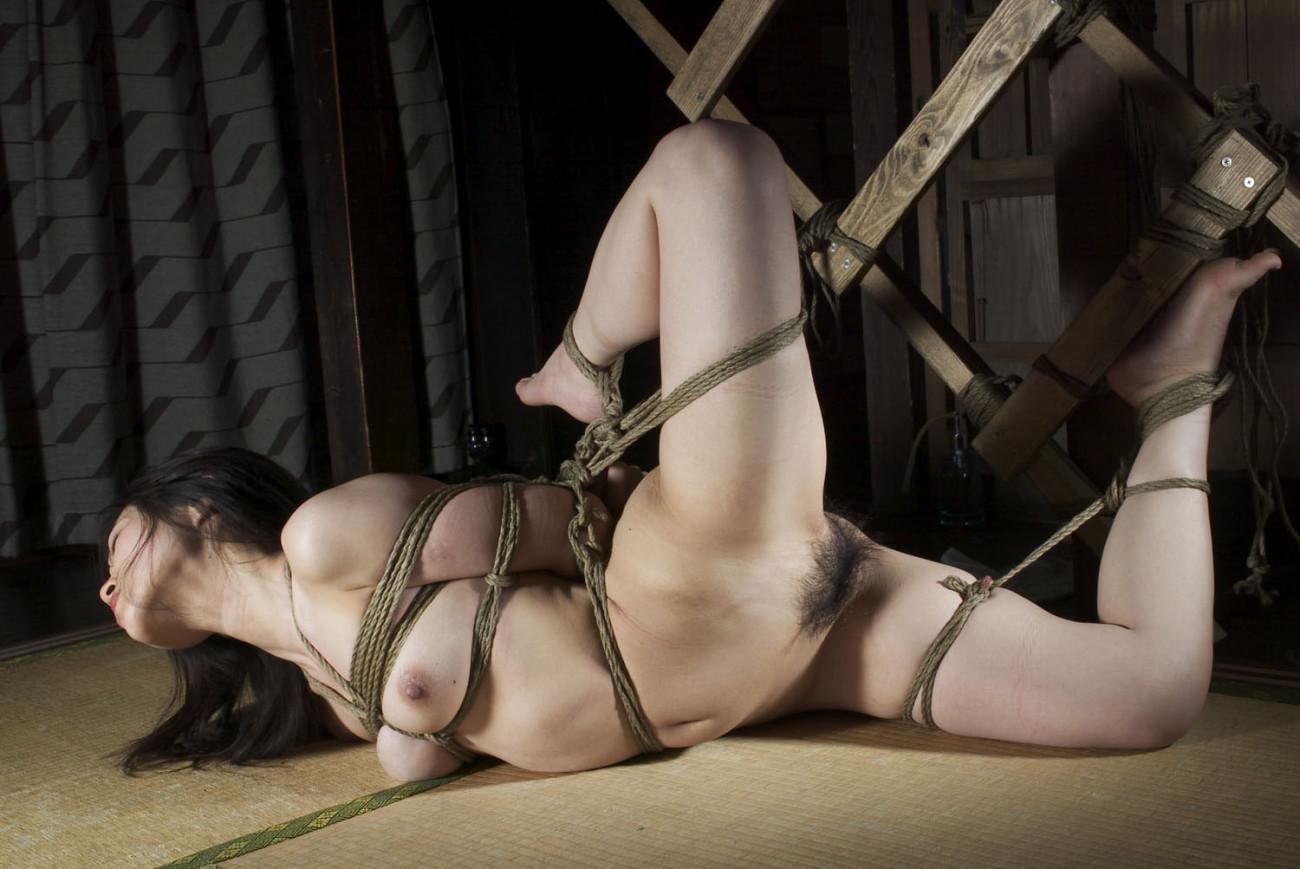 Sensual Provocation Of A Sexy Bondage Girl
