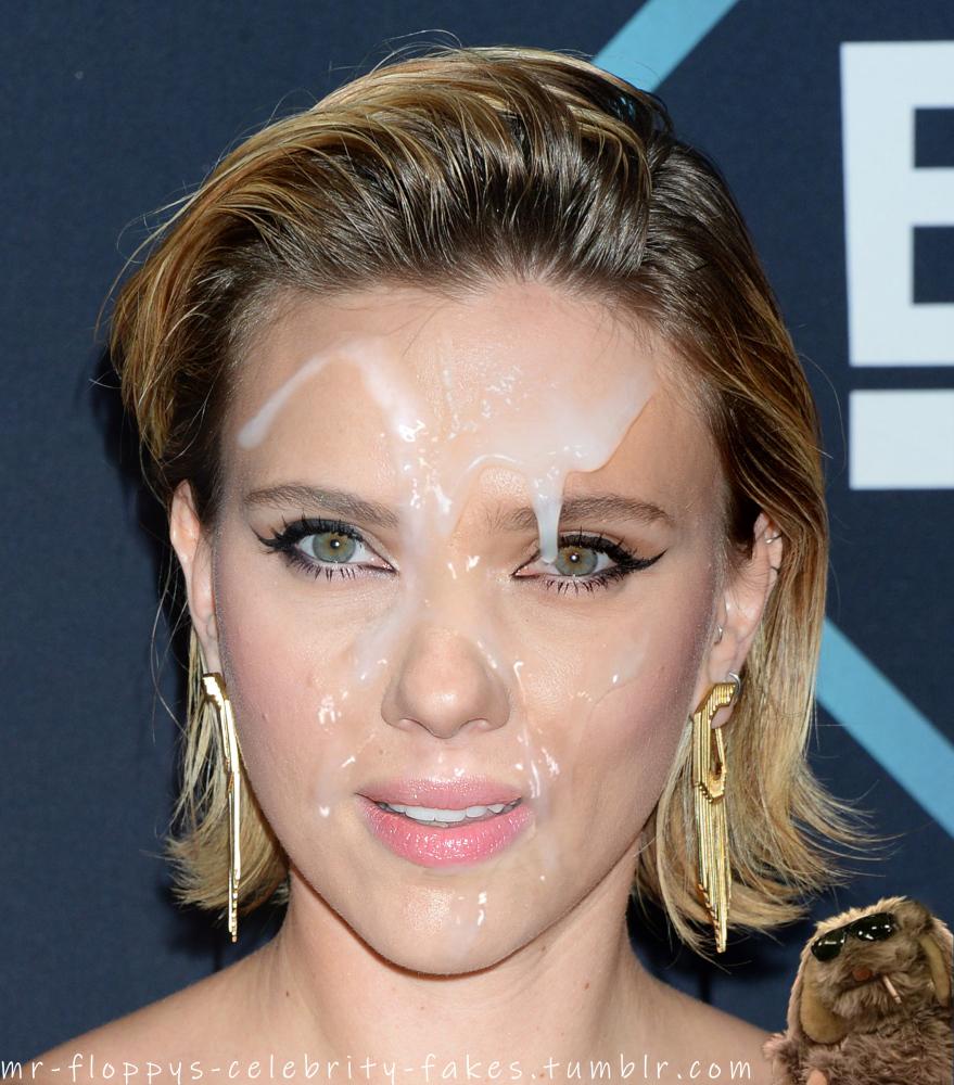 Celebrity facial fakes