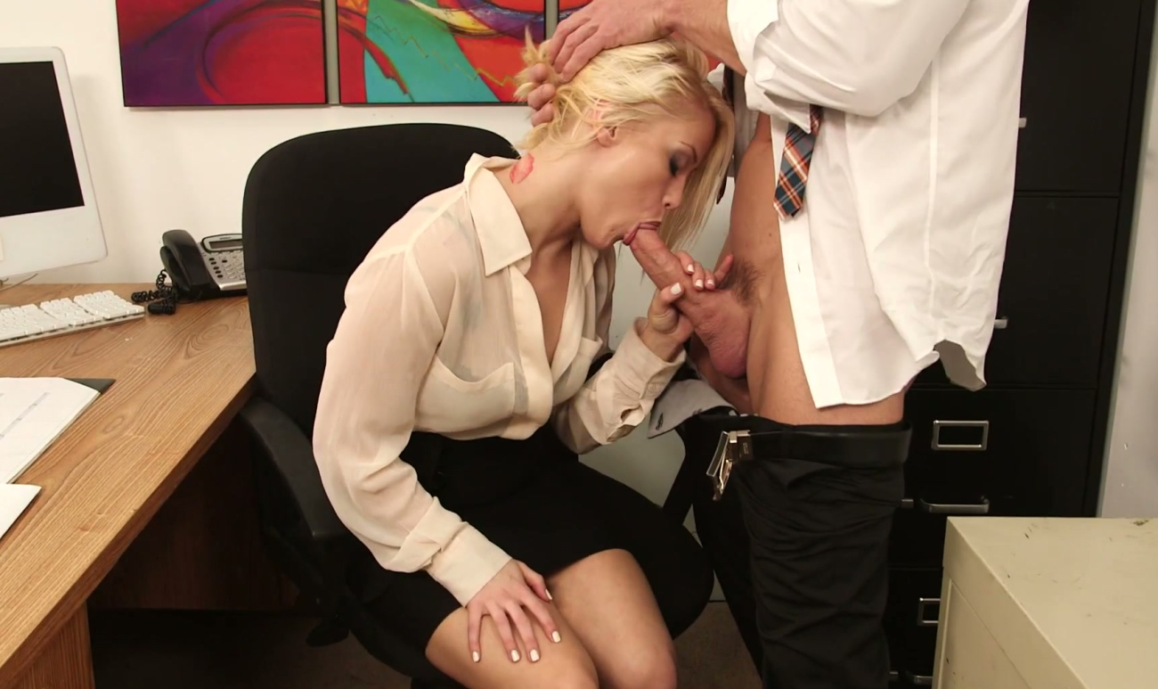 Blowjob secretary miniskirt — img 8