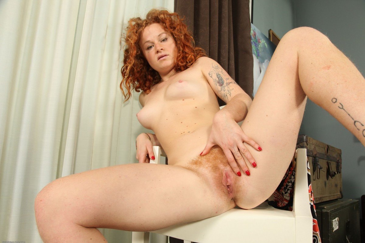 Hairy red naked women