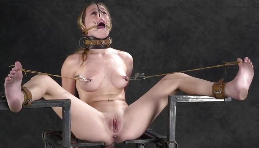 Beauty With Extreme Tit Bondage And Her Insane Long