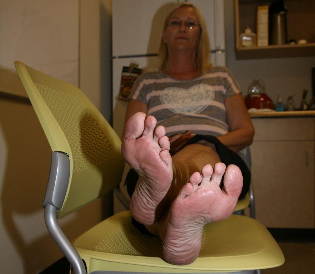 Victoria's mature soles