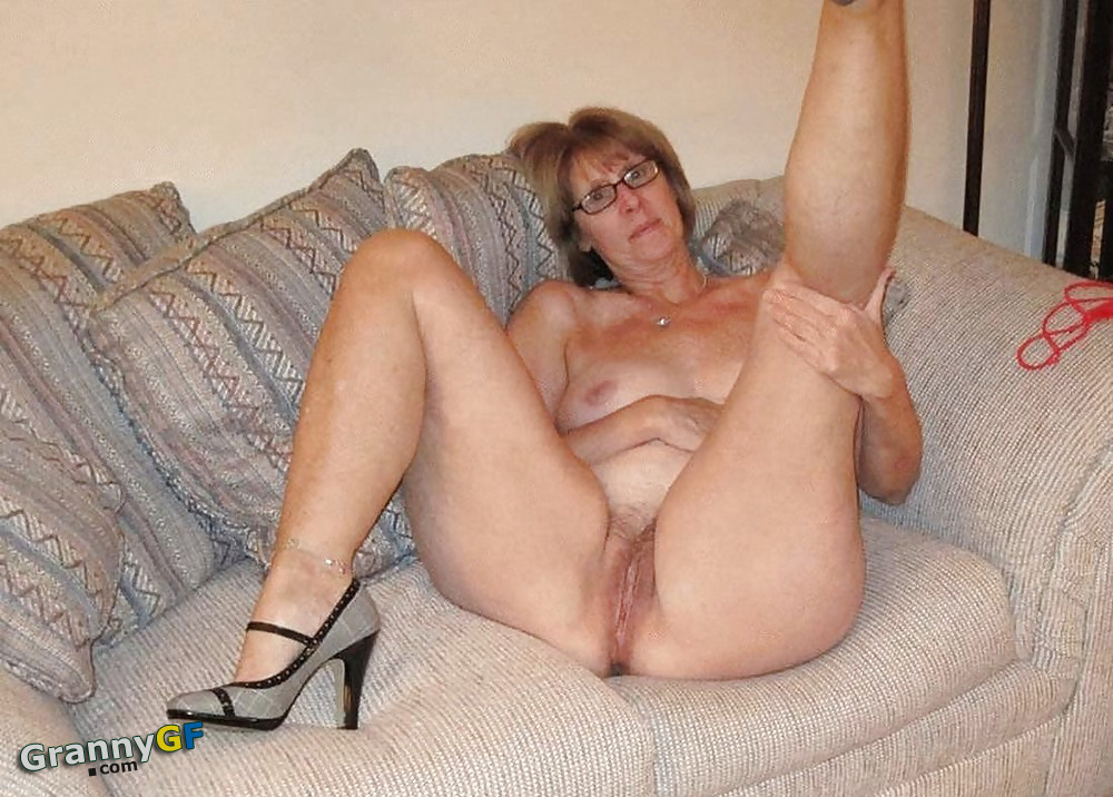 Old pussy naked Mature and